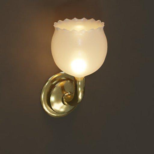 Thumbnail: Antique Wall Lamp