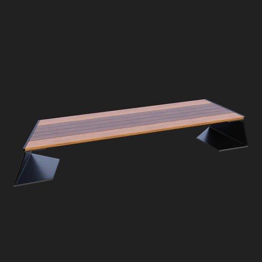 Thumbnail: Modern Street Bench #01