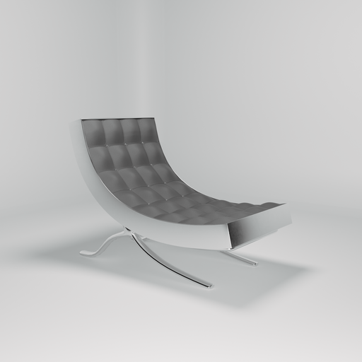 Thumbnail: Leather lounge chair