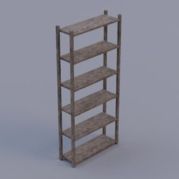 Thumbnail: shelves old rough wooden