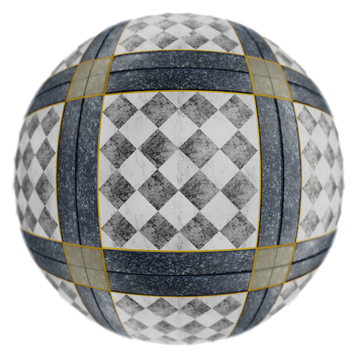 Thumbnail: Decorative marble floor