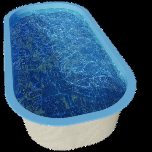 Thumbnail: Swimming pool - 6.1 x 3.1 x 1.4 - dw21a2b