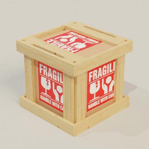 Wood Box Package 50x50x50