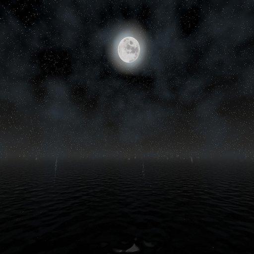 Thumbnail: Night Environment w/ Animated Sky