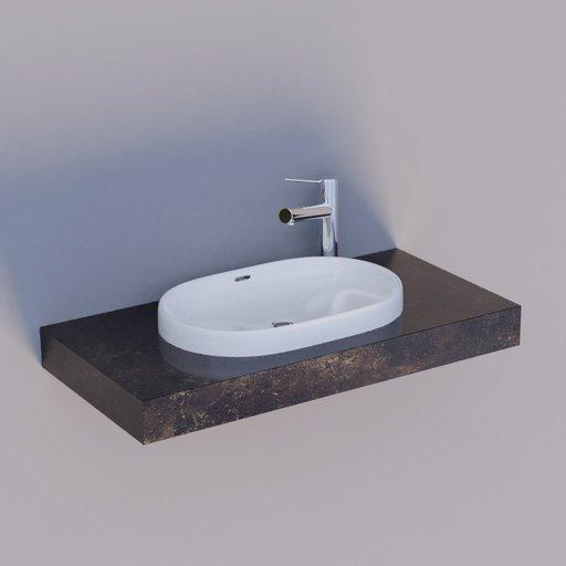 Thumbnail: Wash basin