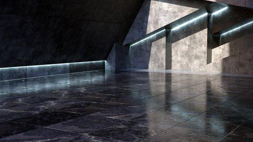 Modern Marble Showroom