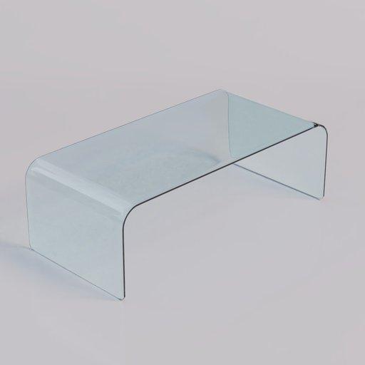 Thumbnail: Coffee Table glass 2