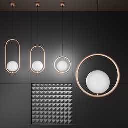 Thumbnail: Bauhaus Circle Lamp Big
