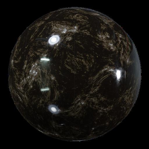 Procedural Dark Brown Marble Tiles