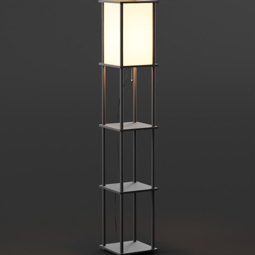 Thumbnail: Tiered Square Lamp