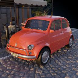 Thumbnail: Vintage Fiat 500