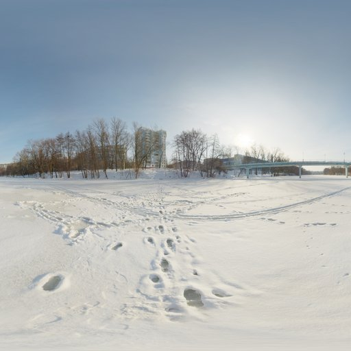 Thumbnail: Winter River