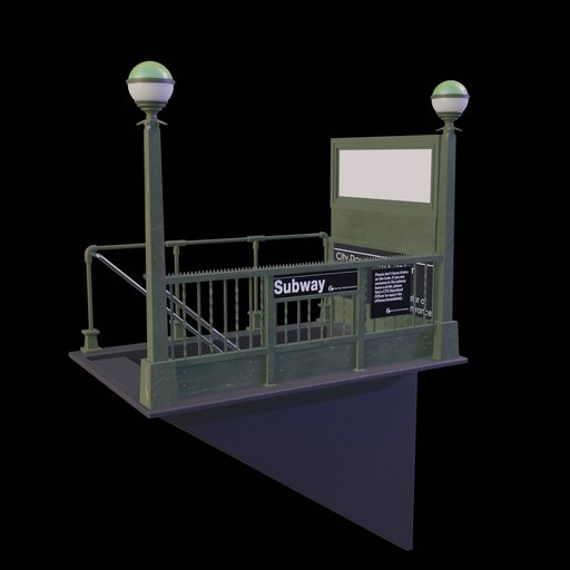 Thumbnail: Subway Entrance