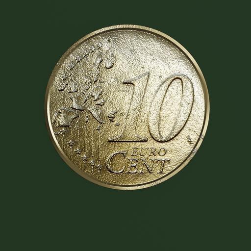 Thumbnail: Euro Coin, 10 cent