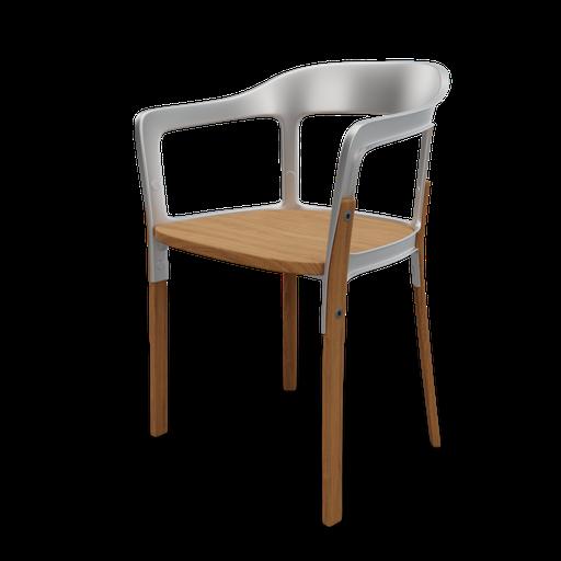 Thumbnail: Steelwood chair