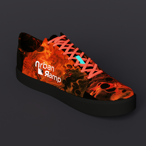 Red Lava Shoe