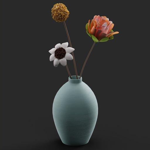Thumbnail: Flower Vase 02