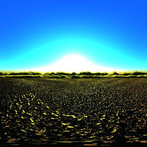 Thumbnail: Dawn in the field