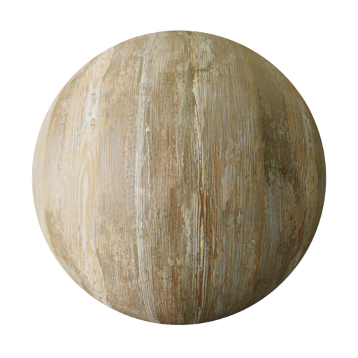Thumbnail: Old raw wood PBR texture seamless II