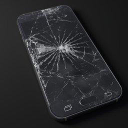 Thumbnail: broken Samsung S6