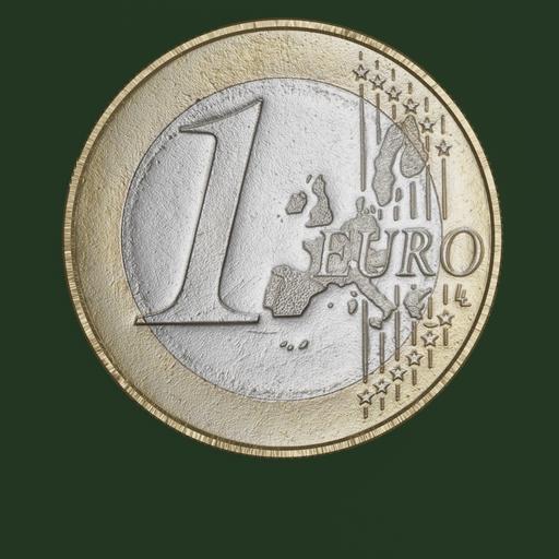 Thumbnail: Euro Coin, 1 Euro
