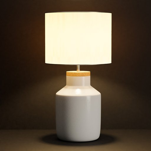 Thumbnail: Modern desk lamp with lampshade