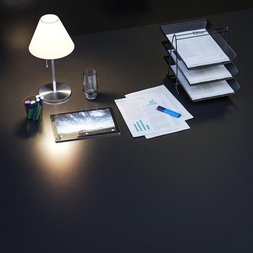 Thumbnail: Office desktop stationery decoration set