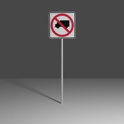 Thumbnail: No Large Trucks