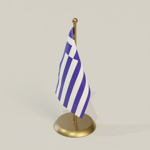 Thumbnail: Greece flag table top