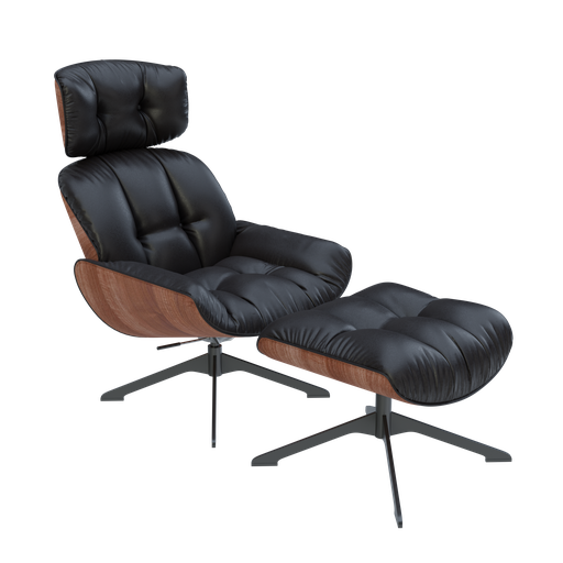 Thumbnail: Eames Lounge Chair and Ottoman