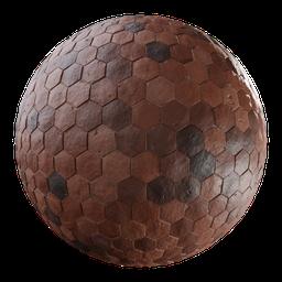 Thumbnail: Terracotta Hexagonal Tiles