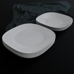 Thumbnail: Dinner Plate set