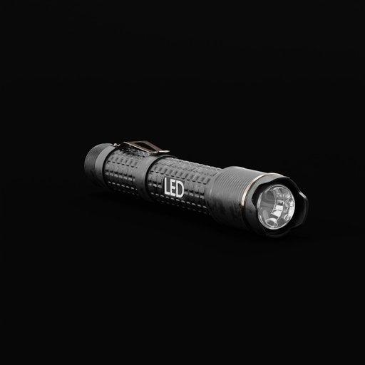 Thumbnail: Pocket flashlight LED
