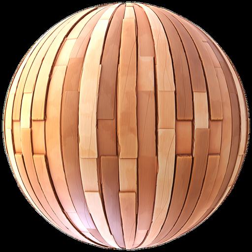 Stylized Wood Planks