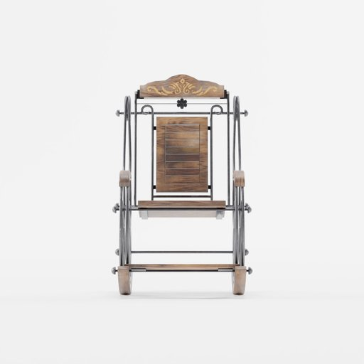 Thumbnail: Handcrafted Rocking Chair