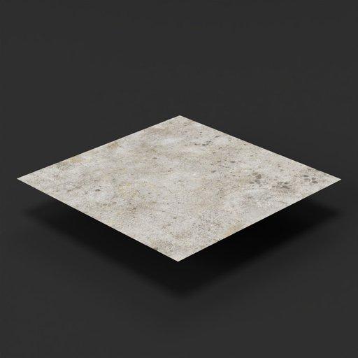 Roof concrete 2x2
