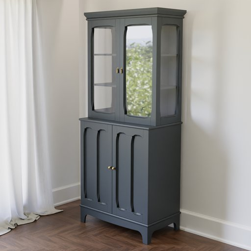 Thumbnail: Glass Door Cabinet
