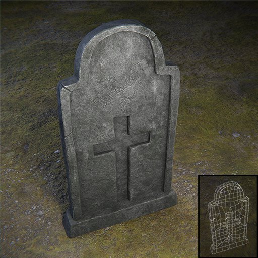 Thumbnail: Tombstone Cross