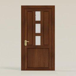Thumbnail: Door 3 Rectangular windows