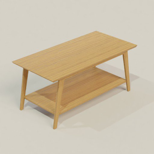 Thumbnail: Coffee Table 45 x 100 x 50