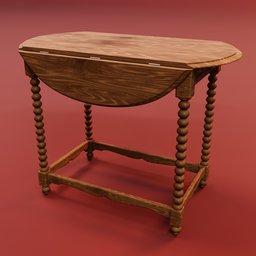 Thumbnail: Baroque side table
