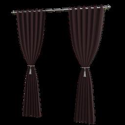 Thumbnail: Long curtain