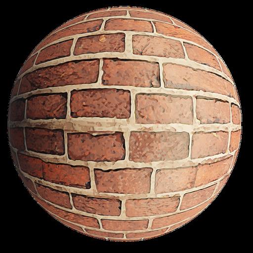 Thumbnail: Bricks stylized brown