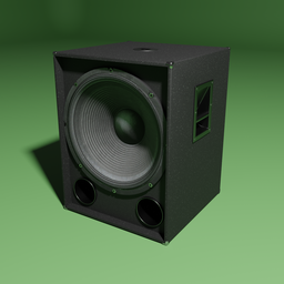 Thumbnail: Subwoofer speaker with 18 inch membrane