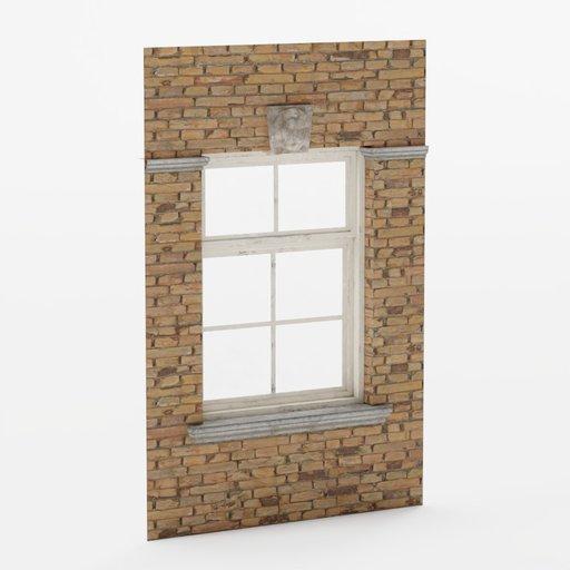 Thumbnail: Wall window center#2 2x3