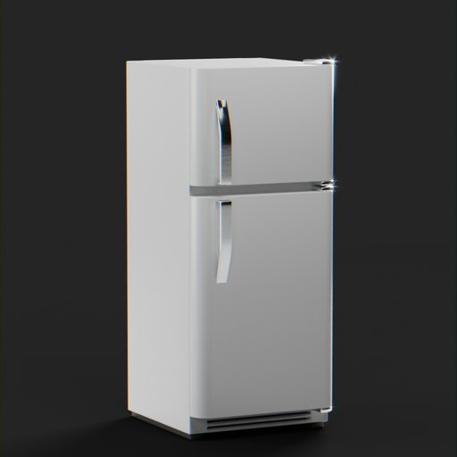 Thumbnail: Two Door Refrigerator 73x70x170