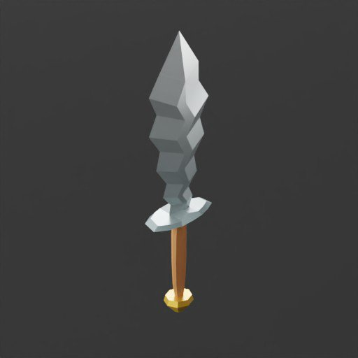 Thumbnail: Low Poly Sword
