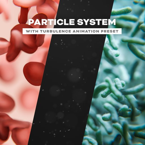Thumbnail: Particle System with Turbulence - Animation Template