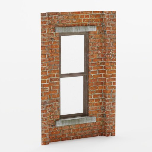 Thumbnail: Wall window inset center 2x3