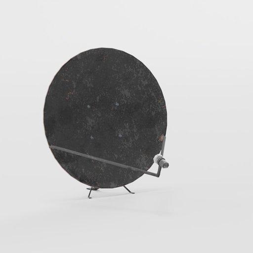 Thumbnail: Satellite dish exterior pack
